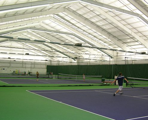 Indoor Tennis Building