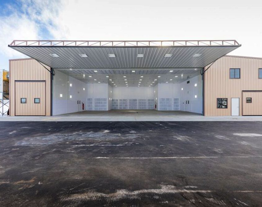 Metal Aircraft Hangar Door