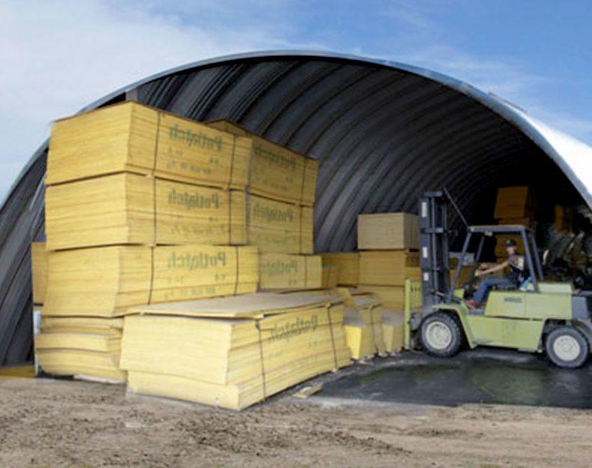 Steel Arch Building Storage