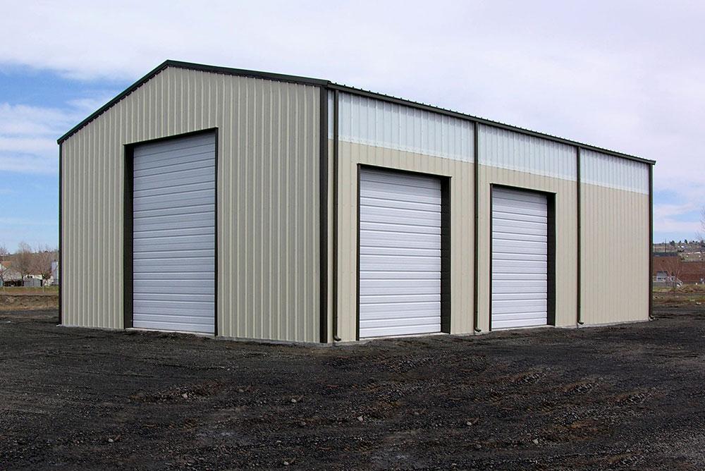 Metal Shops And Garage Kits Made By Sunward Steel Buildings