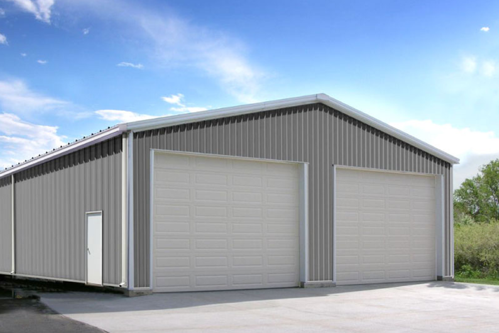 Construction Of Steel Buildings: American-Made Metal Shops & Garage Kits