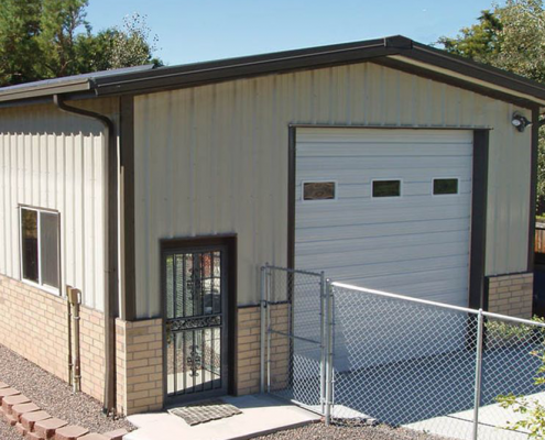 Metal Residential Garage