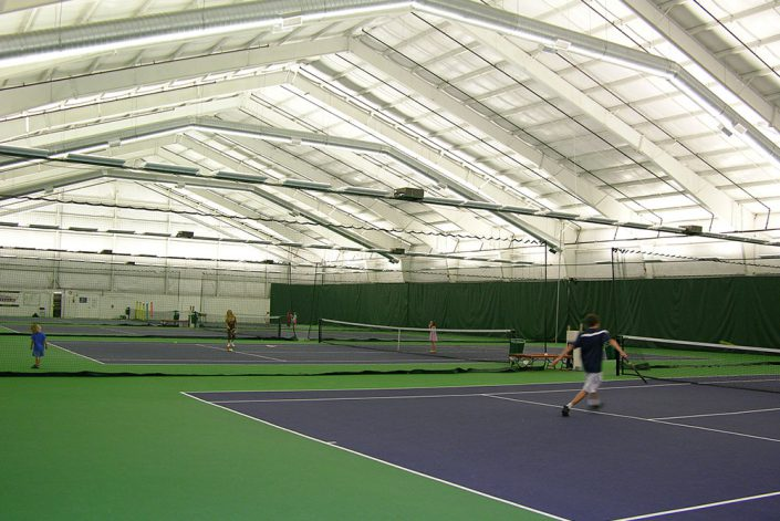 Indoor Tennis Building