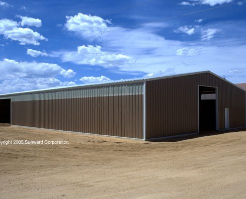 Steel Agricultural Building