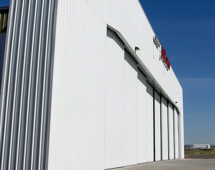 Steel Aircraft Hangar Door