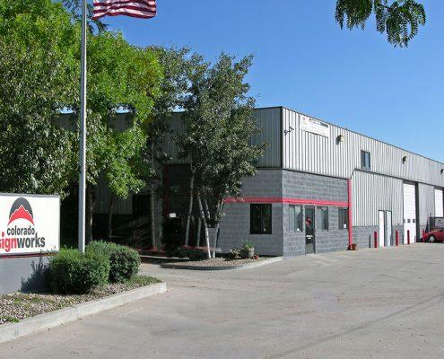 Commercial Retail Metal Building