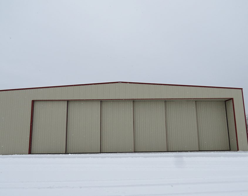 Large Aircraft Hangar