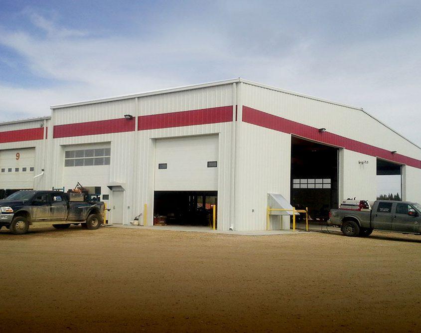 Metal Manufacturing Building