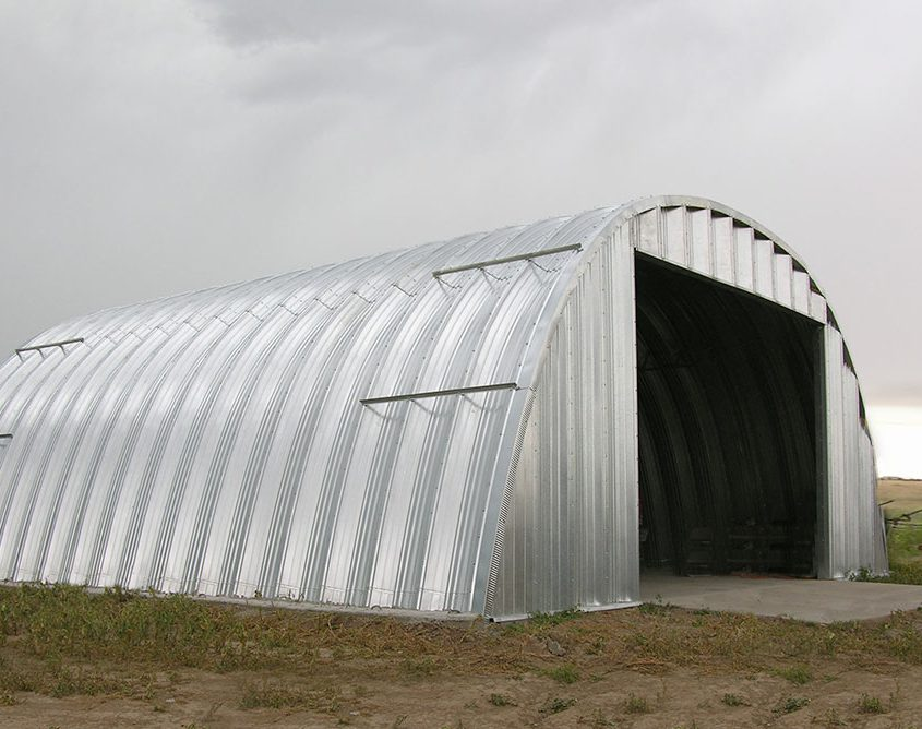 Steel Arch Building