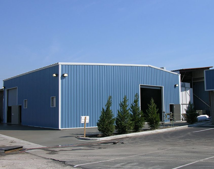 Manufacturing Steel Building