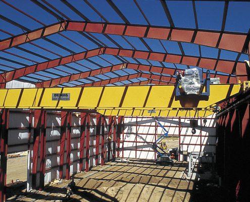 Steel Crane Building