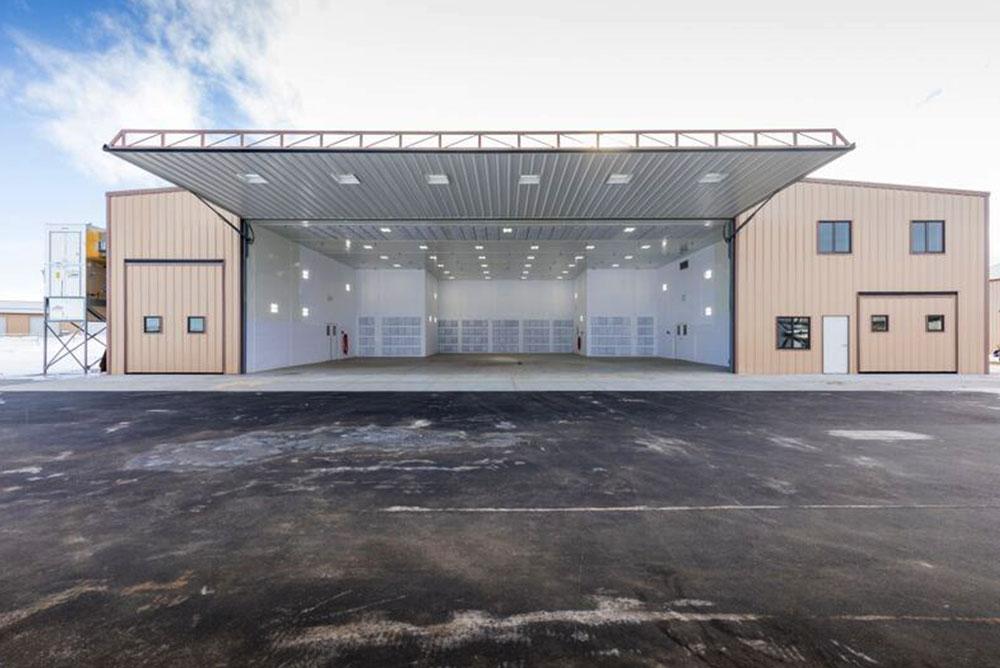 Steel Airplane Hangars Aviation Buildings Sunward Steel