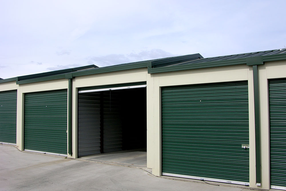 Steel Self-Storage Buildings and Prefab Mini Storage Units