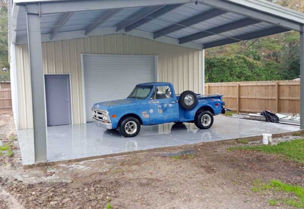 Beste Prefabricated Steel Garage Building Kit in South Carolina BG-53