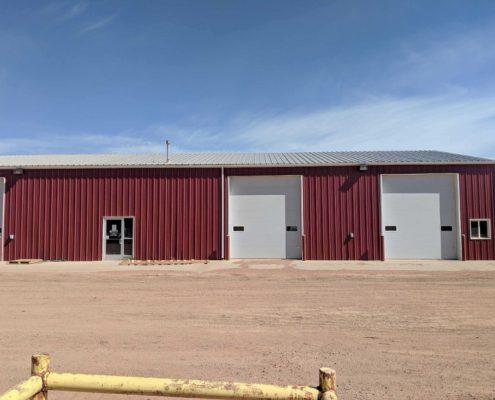 Metal Oil Building North Dakota