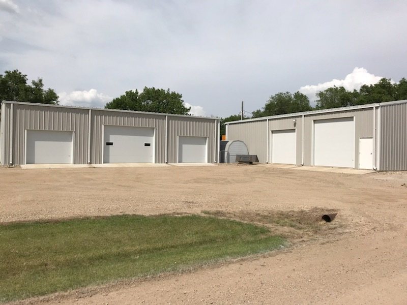 Metal Welding Buildings
