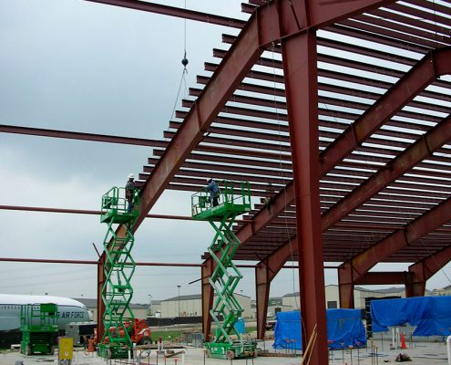 Constructing a Steel Building TX