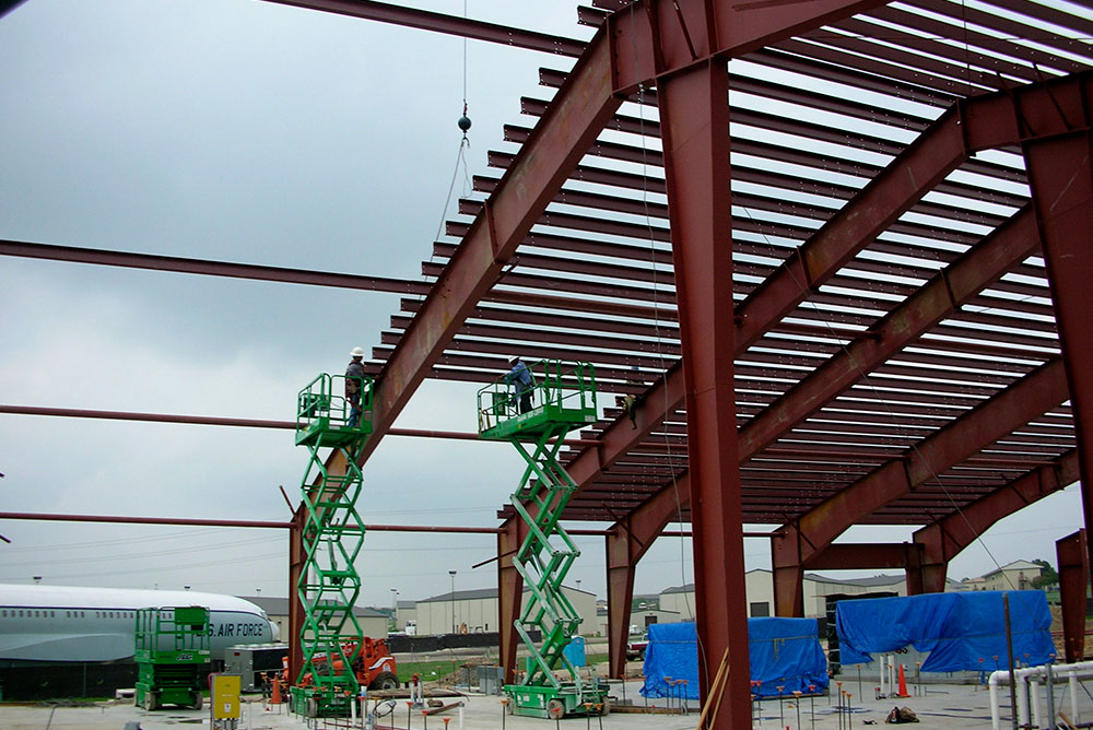 Military Steel Buildings For Lackland Air Force Base Texas