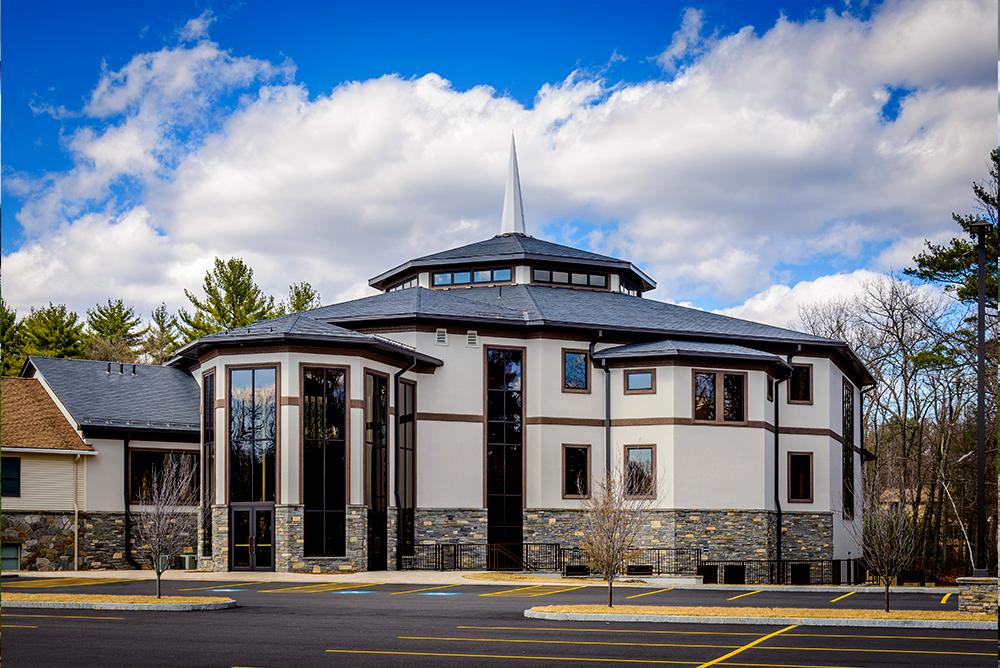 Custom Metal Church Building