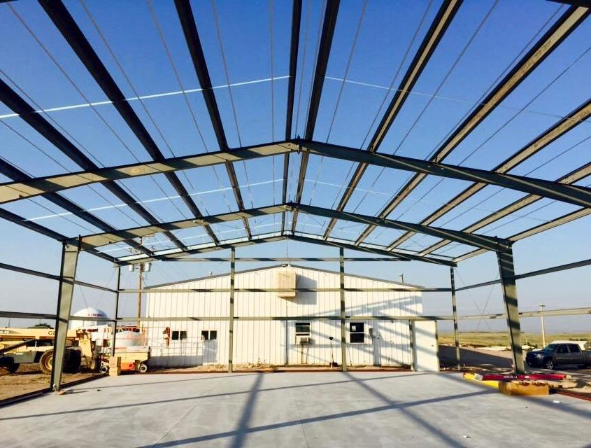 Steel Garage Construction