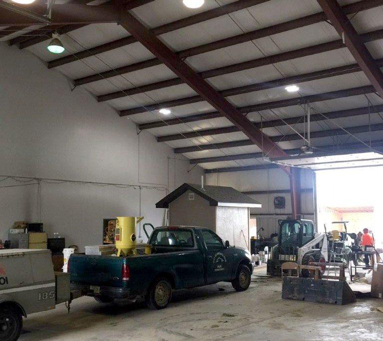 Steel Metal Maintenance Building NE