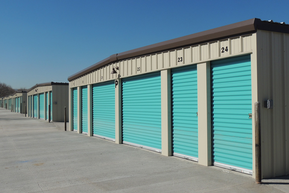 Gable Self Storage Building