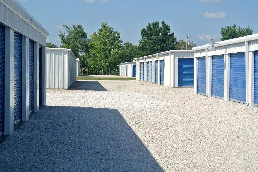 Steel Self-Storage Buildings and Prefab Mini Storage Units