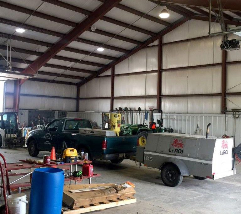 Maintenance Building NE