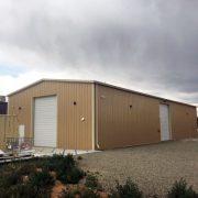 New Mexico Brewery Storage Building