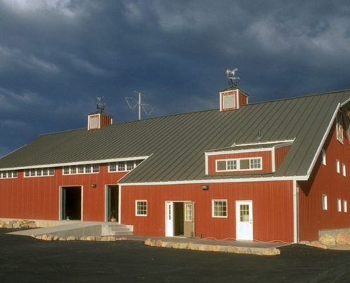Steel Barndominium Home