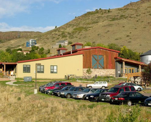 Steel School Building