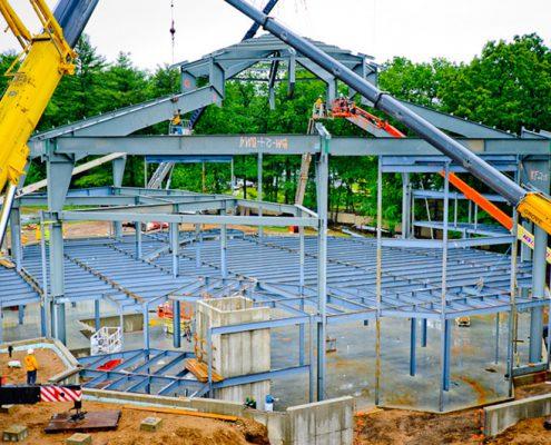 Metal Church Construction