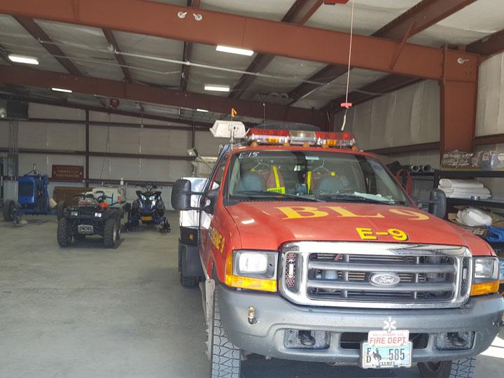 Metal Firehouse Garage