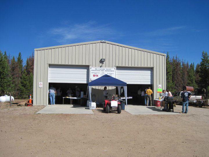 Steel Fire Station Building