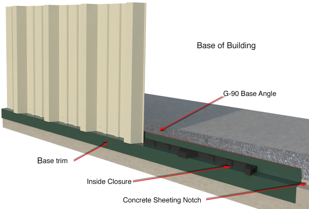 Sunward Steel Buildings Quality Features And Accessories
