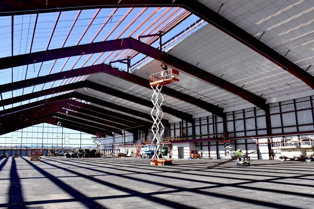 Steel Building with Energy Saver