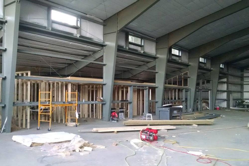 Steel Building Columns