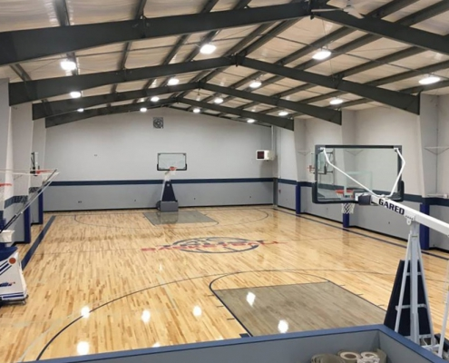 Steel Basketball Court
