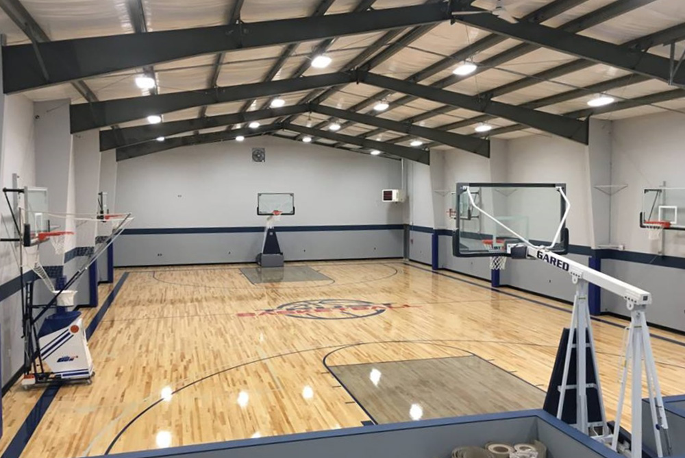 Steel Basketball Court