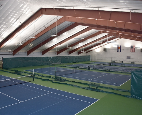 Steel Indoor Tennis Facility