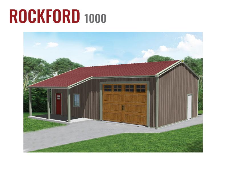 1000 sqft Steel Home