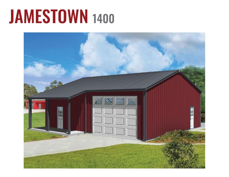 1400 sqft Steel Home