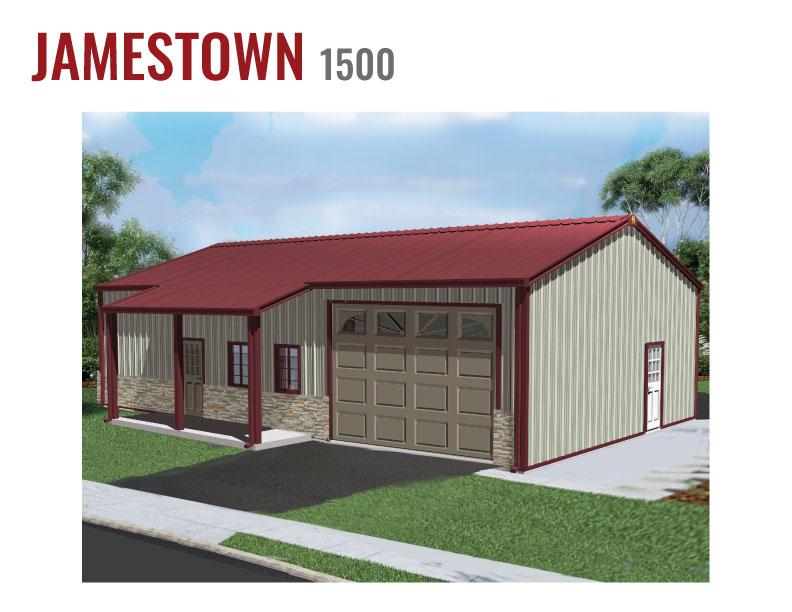 1500 sqft Steel Home