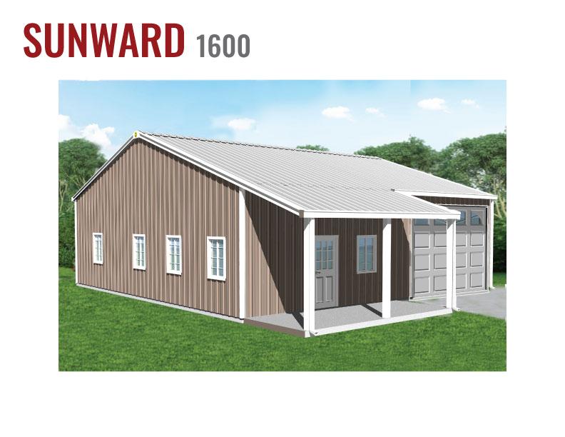 1600 sqft Steel Home