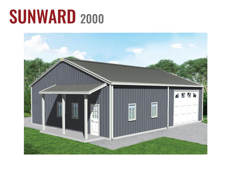 2000 sqft Steel Home