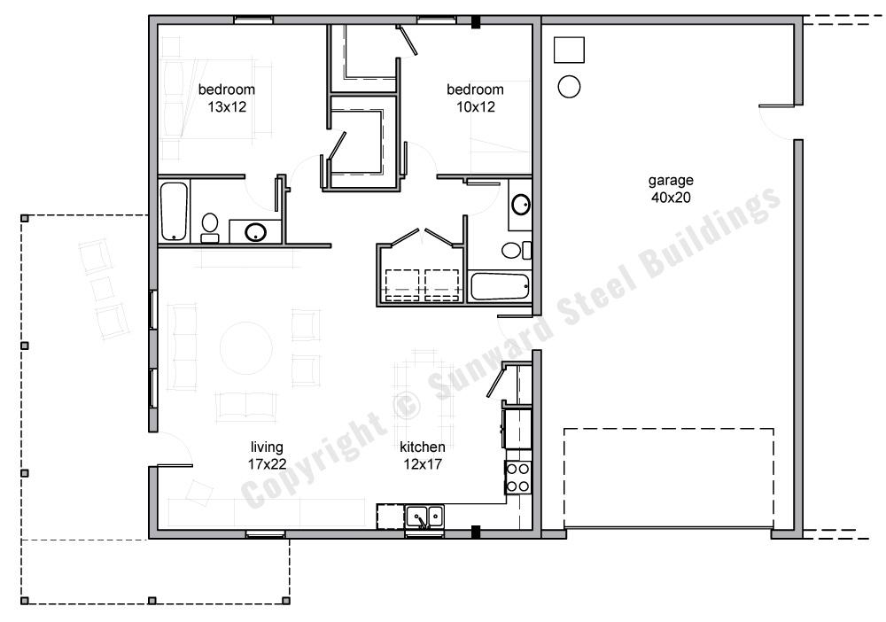 2000 sqft Metal Home