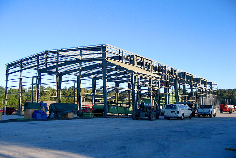 Metal Building Framing