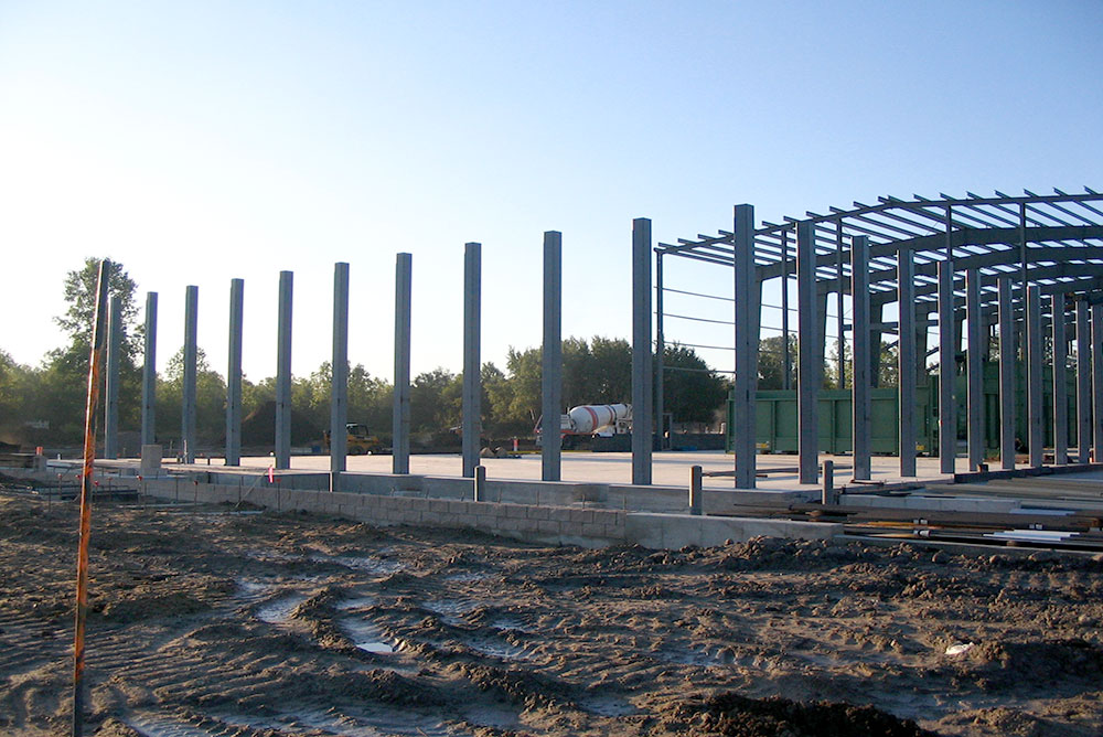 Metal Construction Framing