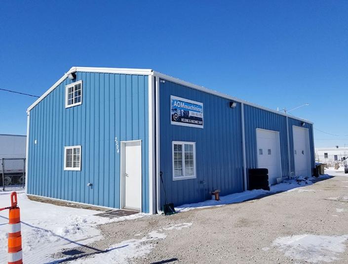 Metal Garage Building