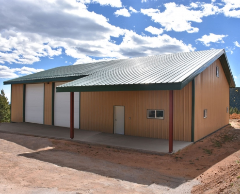 Metal Shop & Garage Building
